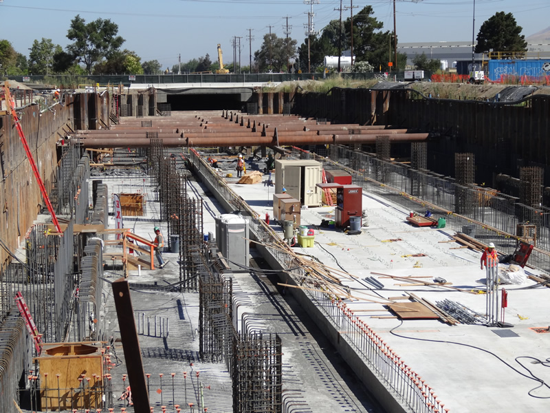 Construction Management Oversight : Bart silicon valley berryessa extension svbx project