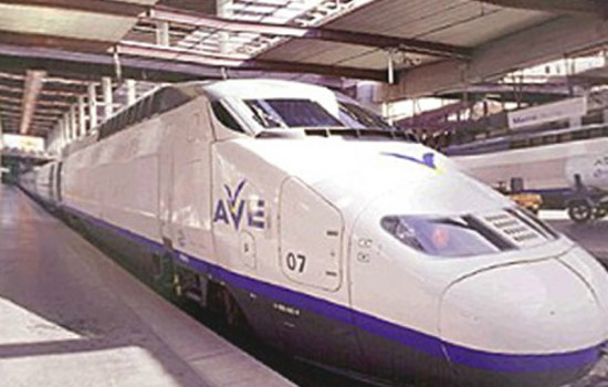 AVE High Speed Rail Extension Project thumb